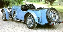 Aston Martin Lemans 2 4 Seater (1933)