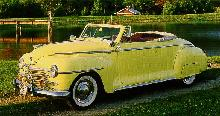 Plymouth P 15c Special Deluxe Convertible Coupe Yellow  Fvl Max  (1946)