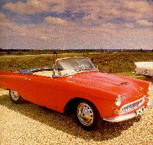 Auto Union 1000sp Convertible Red  Fvr Max  (1961)