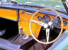 Lotus Elan S1   Cockpit (1963)