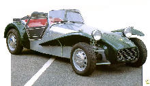 Lotus Seven S2 Ford Cosworth Powered   Front (1965)