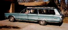 Chrysler Newport Town  Country Svl Steve Max  (1967)