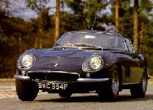 Ferrari 275GTB4, front view whilst cornering  (1967)