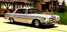 Mercedes Benz 280se 3,5 Coup Silver  Fvr Stitched Max  (1971)
