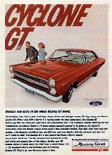mercury Cyclone Gt Ad (1966)