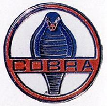 AC Shelby Cobra 427 Badge