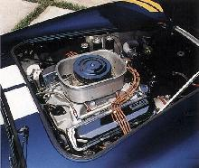 AC Shelby Cobra 427, engine bay