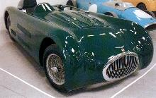Race 1954 Hwm Jaguar Roadster