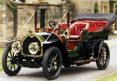 Darracq 16hp Touring (1908)