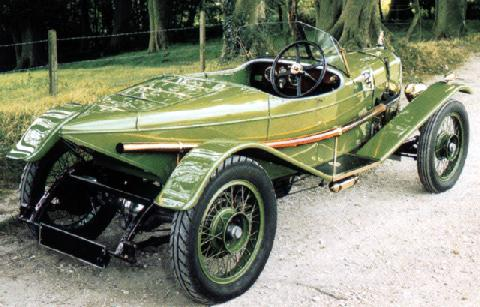 s Alvis 12 50  Ducks Back  Speedster (1920)