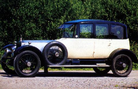 Lanchester 40hp Saloon (1921)