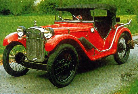 Austin Seven Ulster Supercharged Roadster (1930)