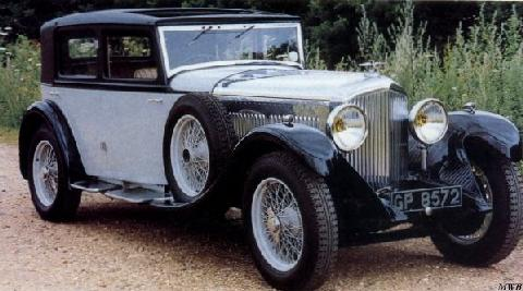 Bentley 8 Litre Sunshine Touring Saloon (1931)