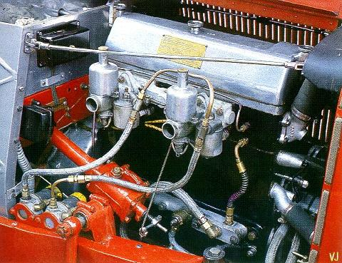 Aston Martin Ulster Lm17   Engine (1934)