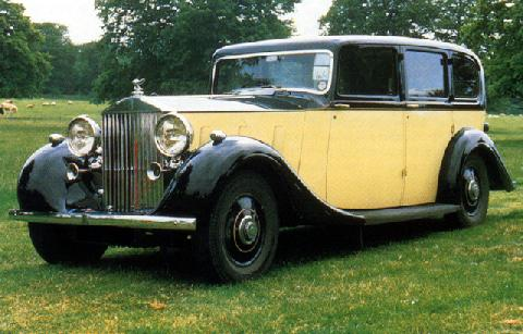 Rolls Royce Phantom Iii Sedan (1935)
