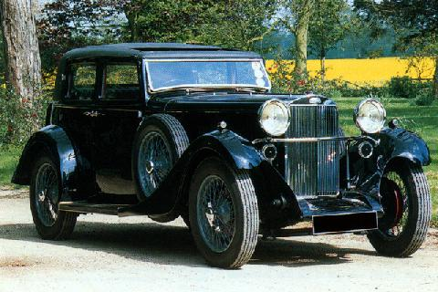 Sunbeam Speed Twenty Touring Sedan (1935)
