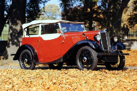 Morris Eight Tourer (1936)