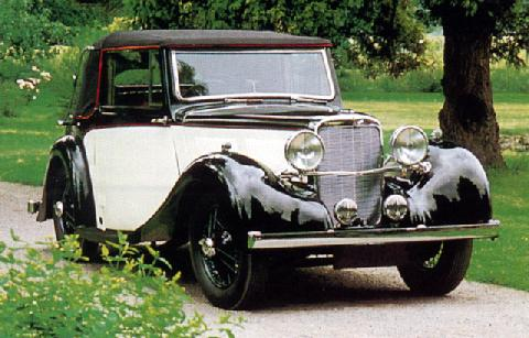 Alvis 12 70 Convertible Coupe (1937)