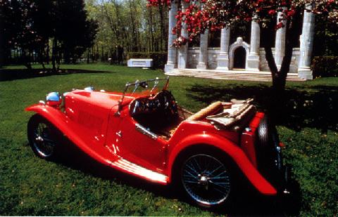 Mg Ta Midget Roadster (1939)