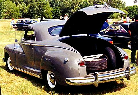 Dodge Business Coupe  Rvl Opentrunk Carnut Mmod  (1947)