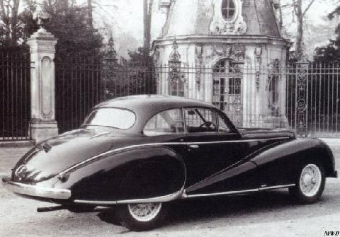 Delahaye 138 Coach By Antem (1948)