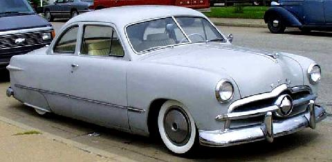 Ford Custom Club Coupe  Fvr Carnut Mmod  (1949)