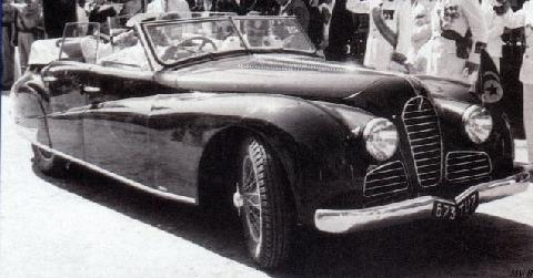 Talbot Lago Record Cabriolet 4 Door By Antem (1949)