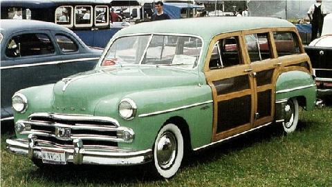 Dodge Station Wagon Green  Fvl (1950)