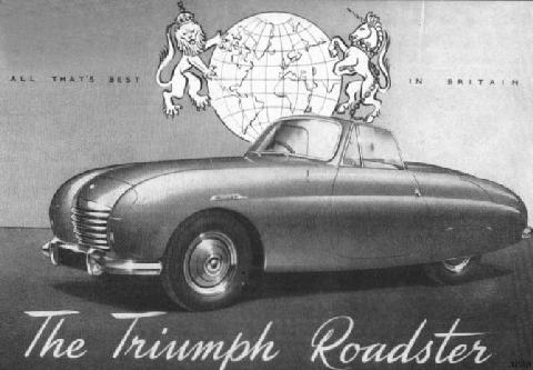 Triumph Trx Roadster Advert (1950)