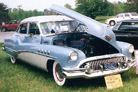 Buick Roadmaster 4 Door Sedan  Bo  (1951)