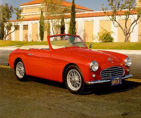 Siata Amica Roadster Red  Fvr Max  (1951)