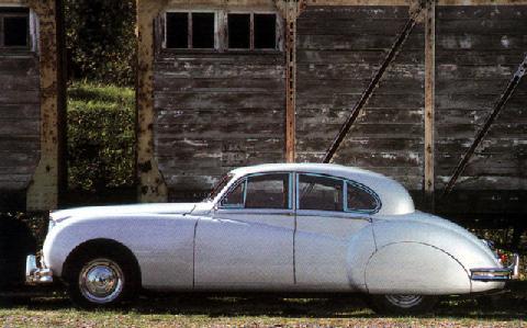 1952 jaguar sedan