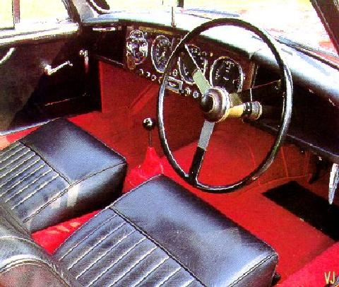 Aston Martin Db2 4   Interior (1953)