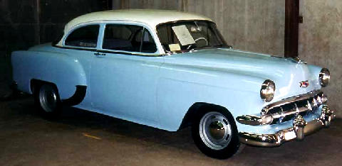 Chevrolet 150 2door Sedan  Fvr Carnut Mmod  (1954)