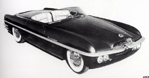 Dodge Fire Arrow Ii (1954)