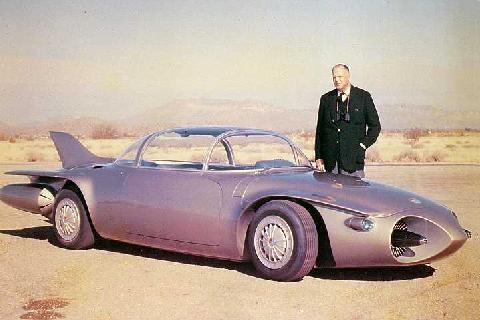 Firebird Ii With Harvey Earl (1956)