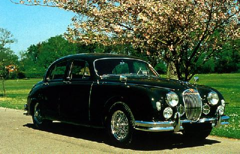 Jaguar 3.4 Litre Sedan (1957)