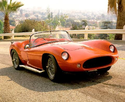 Devin Ss Roadster Red  Fvr Max  (1958)