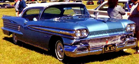 Oldsmobile 98 Holiday Coupe  Fvr Carnut Mmod  (1958)