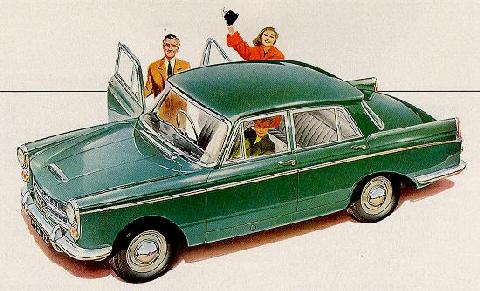 Austin A99 Westminster Saloon Green Svltop Max  (1959)
