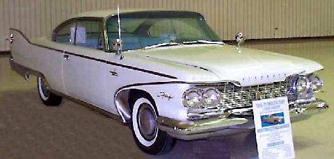 Plymouth Fury Sport Coupe  Fvr Carnut Mmod  (1960)