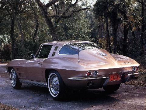 Chevrolet Corvette Coupe Qm@1024 (1964)