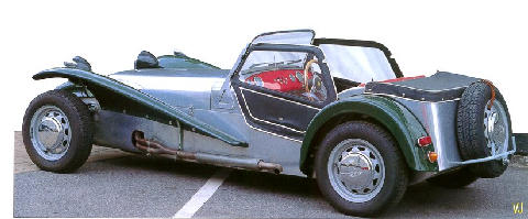 Lotus Seven S2 Ford Cosworth Powered   Rear (1965)