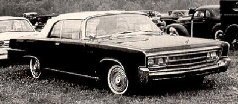 Imperial Crown Convertible  Fvr Bw Max  (1966)