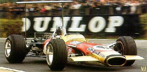 Lotus Type 49 Graham Hill (1968)