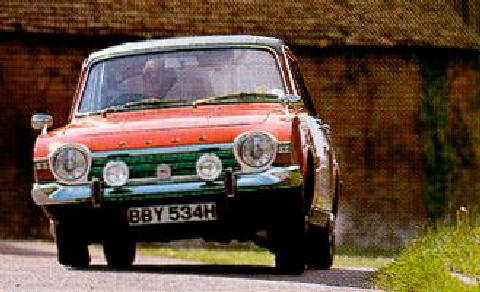 Ford Corsair 2000e Fv Cornering Max  (1970)
