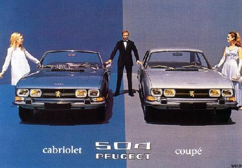 Peugeot 504 Cabriolet Vehicle Summary Motorbase