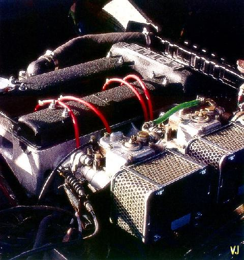 Lotus Seven S4 Twin Cam   Engine (1971)