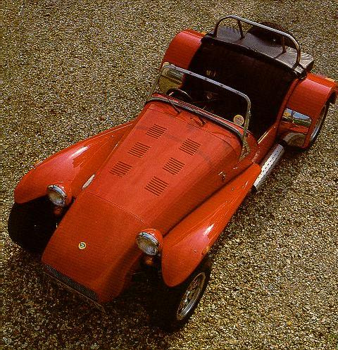 Caterham Super Seven Twin Cam Red Fvtop Max  (1979)