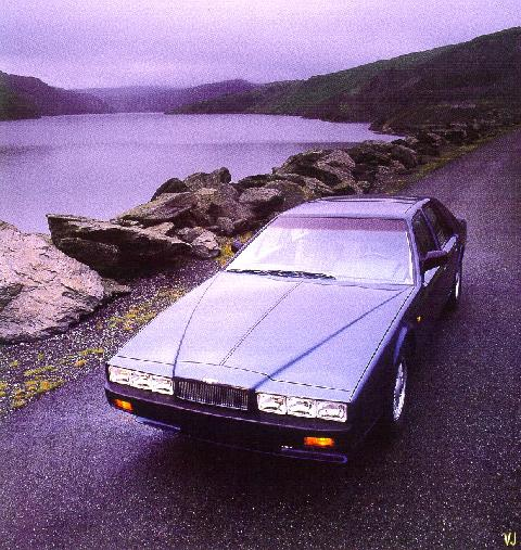 Aston Martin Lagonda   Blue   Top Front (1987)